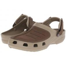 Mens Crocs Yukon Mesa  Clog Khaki