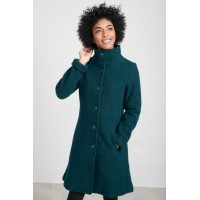 SEASALT CORNWALL Falmouth Dawn Coat Dark Teal was £150