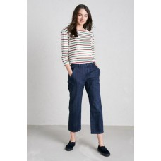 SEASALT CORNWALL Viburnum Trousers Mid Indigo Wash was £59.95
