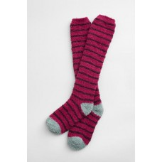 Womens Fluffies Socks Long Breton Compote Charm