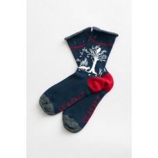 Festive Feet Socks Enchanted Forest Night One Size