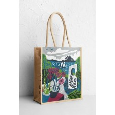 Jute Shopper Mounts Bay Garden One Size