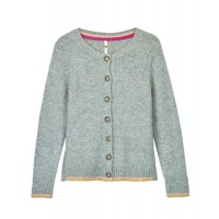 WHITE STUFF Piper Cardi Duck Egg Blue