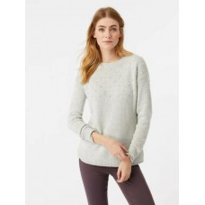 WHITE STUFF Wilderness Bobble Jumper Silver Grey was £59.95