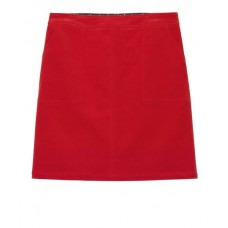 WHITE STUFF Clocktower Cord A Line Skirt Foxy Orange Plain was £49.95
