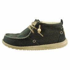 HEY DUDE Conrad Natural in Black Was £54.95