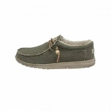 HEY DUDE Mens Wally Chalet in Khaki was £49.95