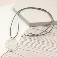 Silver Pendant Light Grey Pendant