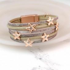 Rose gold stars Bracelet