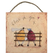 SAM TOFT (CLOSE TO YOU)-WOODEN BLOCK
