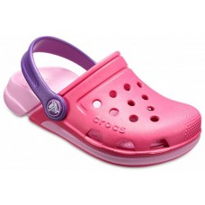CROCS Girls Electro III Clog in Paradise Pink Carnation