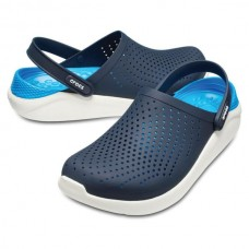 CROCS Adult LiteRide Clog Navy/White