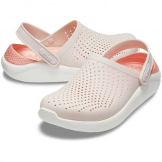 CROCS Adult LiteRide Clog Barely Pink/White
