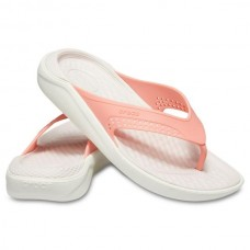 CROCS Adult LiteRide Flip Melon/White