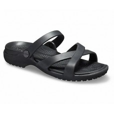 CROCS Womens Meleen CrossBand Sandal W Black RRP £24.95