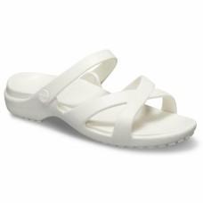 CROCS Womens Meleen CrossBand Sandal Oyster RRP £24.95
