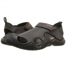 CROCS Mens Swiftwater Sandal Espresso