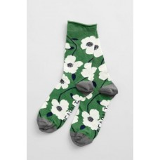SEASALT Bamboo Arty Socks Wild Mallow Hedgerow