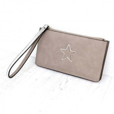 STAR DOUBLE PURSE/BEIGE