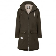 Lazy Jacks Waterproof Snug Lined Long Coat  Forest was £89.95