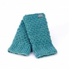 KuSan moss yarn handwarmers aqua