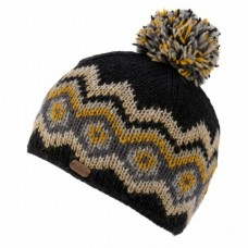 kuSan bobble hat black