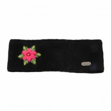 kuSan flower headband black