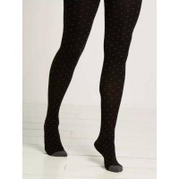 Mini spot tights black were £15