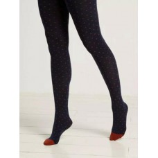 WHITE STUFF Mini spot tights Navy