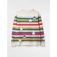 WHITE STUFF Rainbow's End Jumper Multi