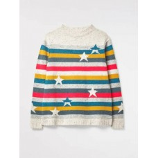 WHITE STUFF Rainbow's End Jumper Multi was £59.95