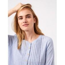 WHITE STUFF Mia Shirt Blue