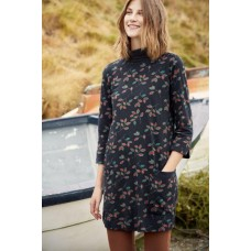 SEASALT CORNWALL Cape Cornwall tunic Painted Leaf Dark Night