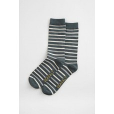 SEASALT CORNWALL Men's Sailor Socks Duet Nickel Cobble