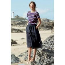 SEASALT CORNWALL Sailor T-Shirt Quad Breton Freesia Dune