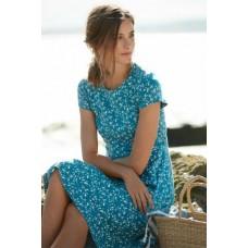 SEASALT CORNWALL Riviera Dress II Tossed Seaweed Dark Briney