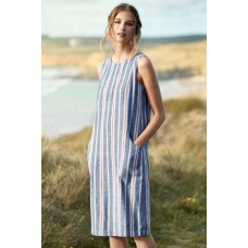 SEASALT CORNWALL Beach Cabin Dress Publication Marine was £69.95