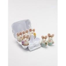 6 x Easter Bunny Egg Box Multi