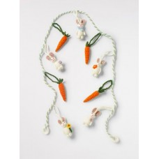Easter Bunny Carrot Garland Multi