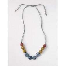 Small Speckle Ceramic Necklace Multi ONE SIZE