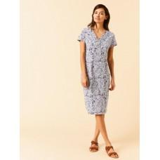 Morie Dress Grey Print