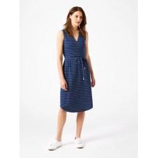 Avery Stripe Dress Indigo Stripe