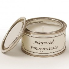 Paint Pot Candle Peppered Pomegranate