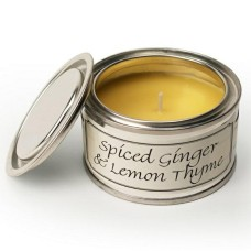 Paint Pot Candle Spiced Ginger & Lemon Thyme