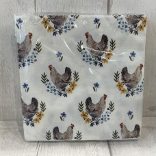 Country Hen Paper Napkins