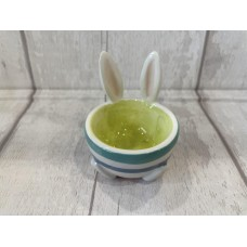Ceramic Egg Cup with Bunny Ears