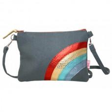 LUA Snakeskin Rainbow Mini Bag