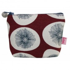 LUA Mini Purse Burgundy Dandelion