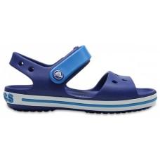 CROCS Kids Crocband Sandal Cerulean Blue/ Ocean