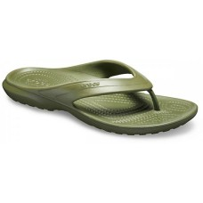 CROCS Adult Classic Flip Army Green  Was £16.95